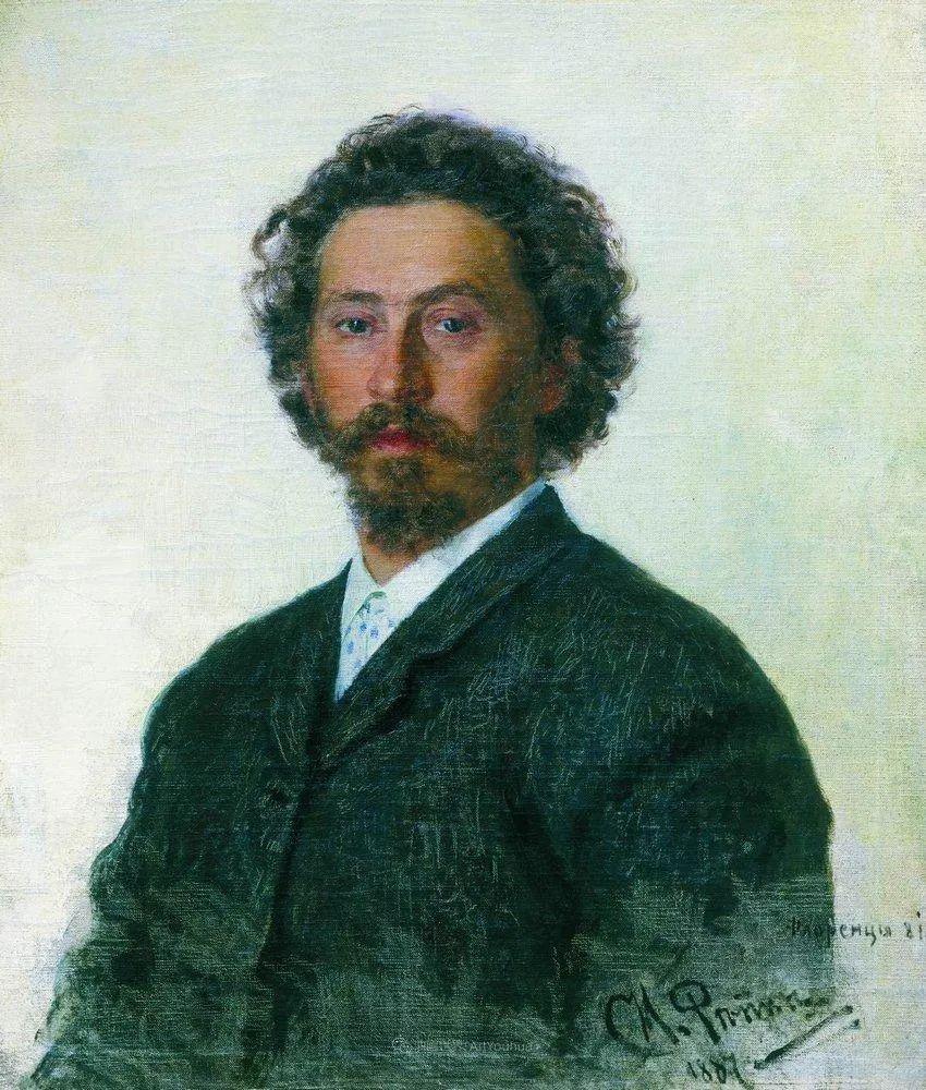 现实主义巨匠列宾, 男性肖像作品精选 170幅插图97
