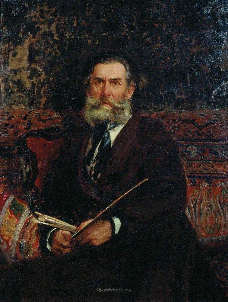 现实主义巨匠列宾, 男性肖像作品精选 170幅插图99