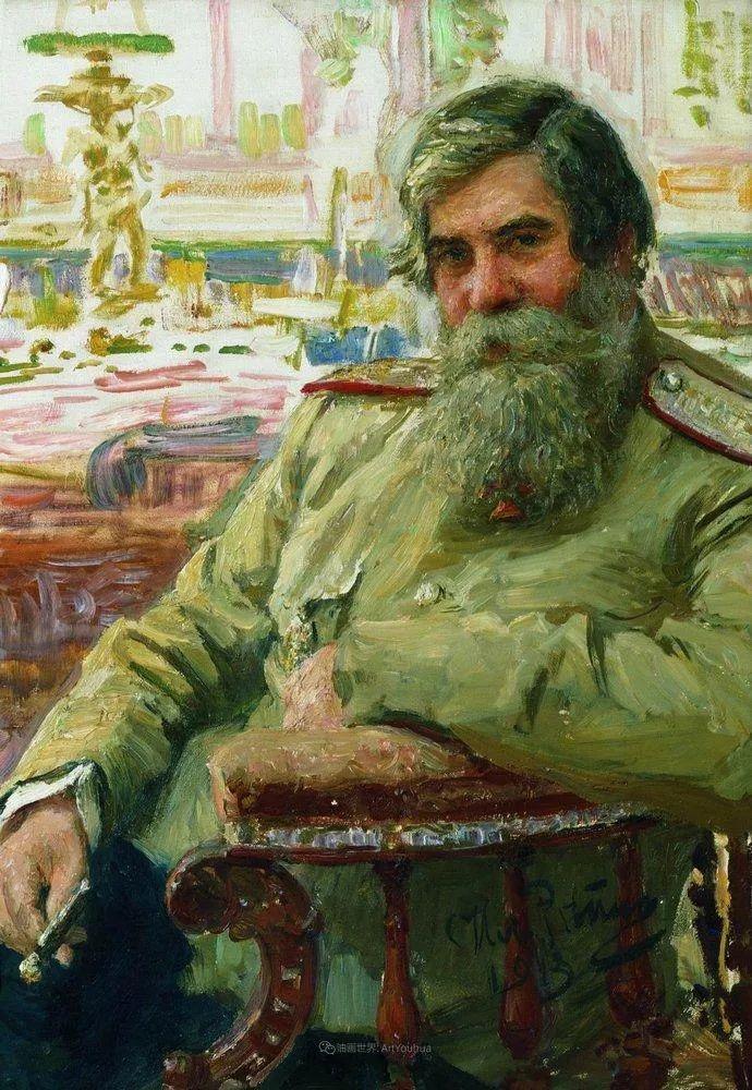 现实主义巨匠列宾, 男性肖像作品精选 170幅插图101