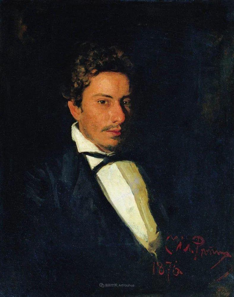 现实主义巨匠列宾, 男性肖像作品精选 170幅插图103
