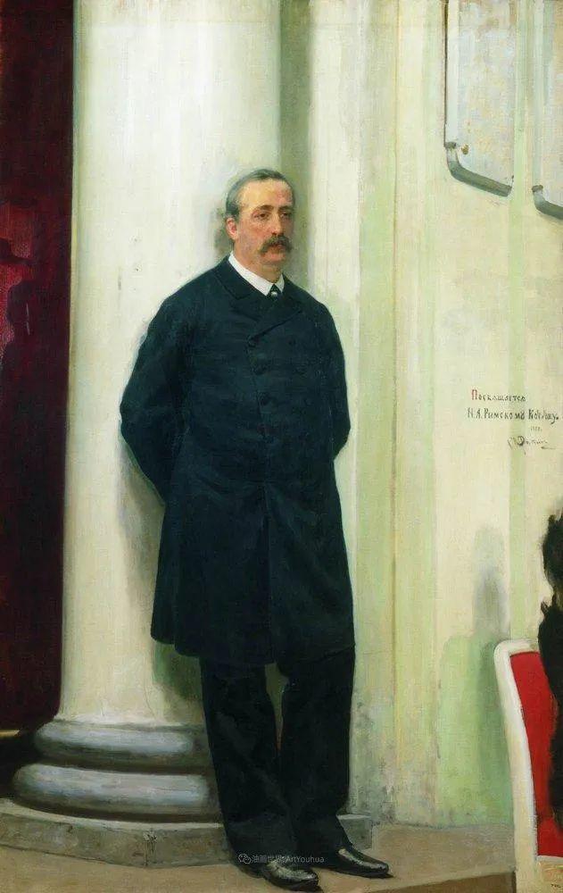 现实主义巨匠列宾, 男性肖像作品精选 170幅插图107