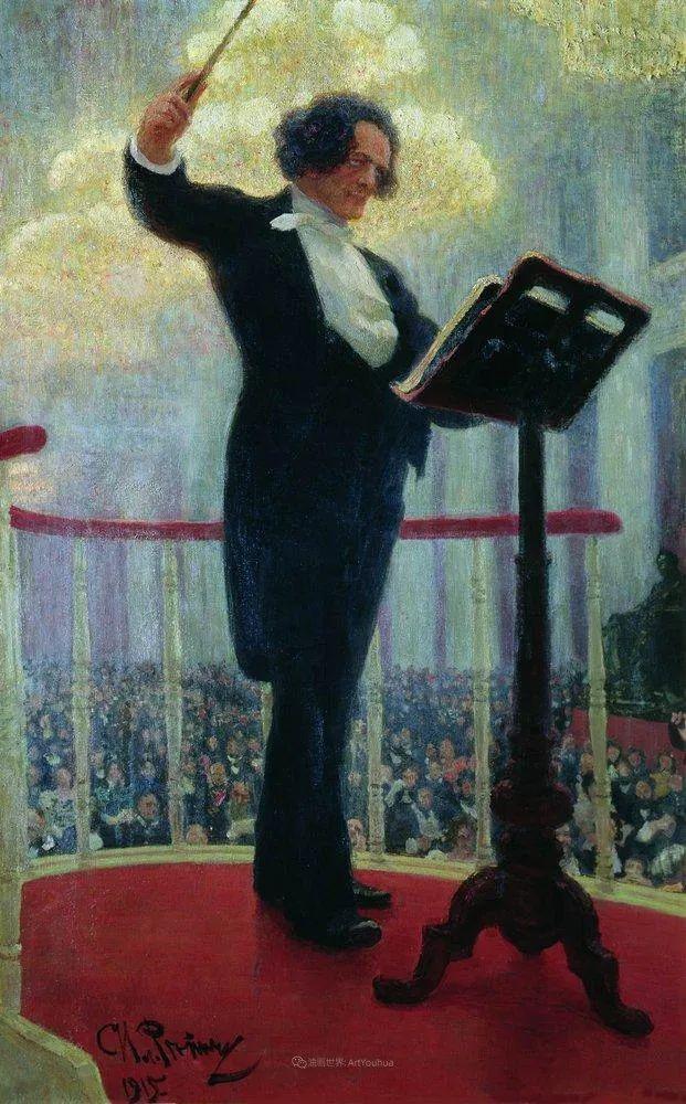 现实主义巨匠列宾, 男性肖像作品精选 170幅插图117