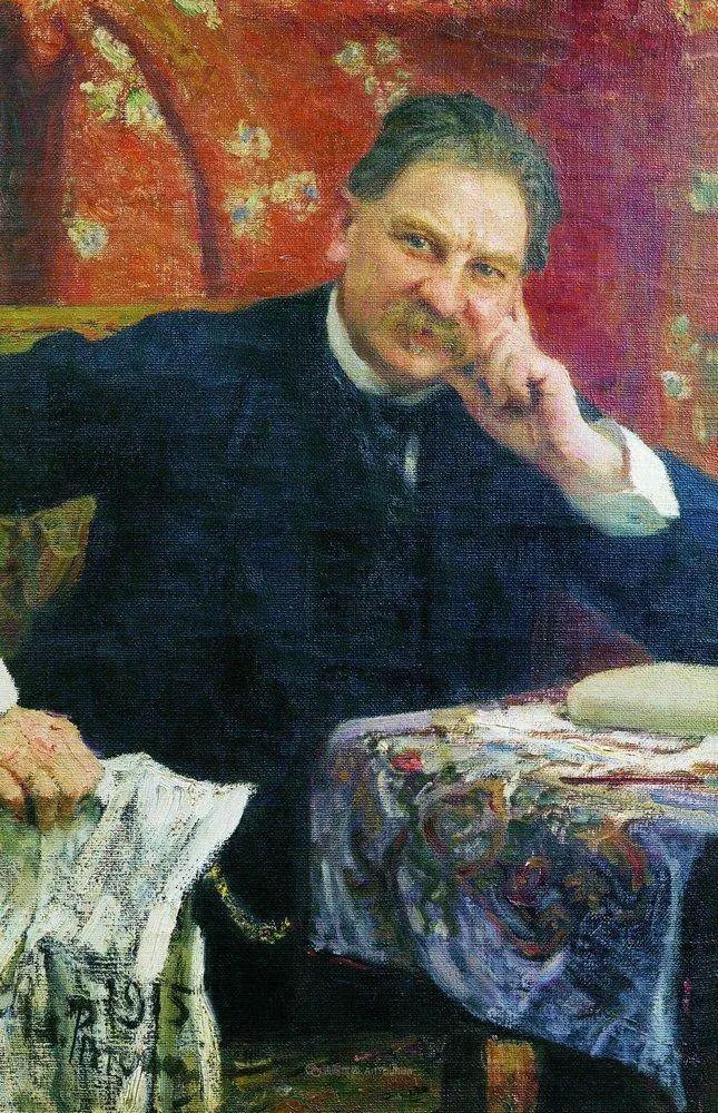 现实主义巨匠列宾, 男性肖像作品精选 170幅插图119