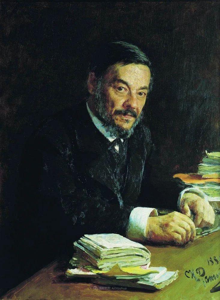 现实主义巨匠列宾, 男性肖像作品精选 170幅插图123