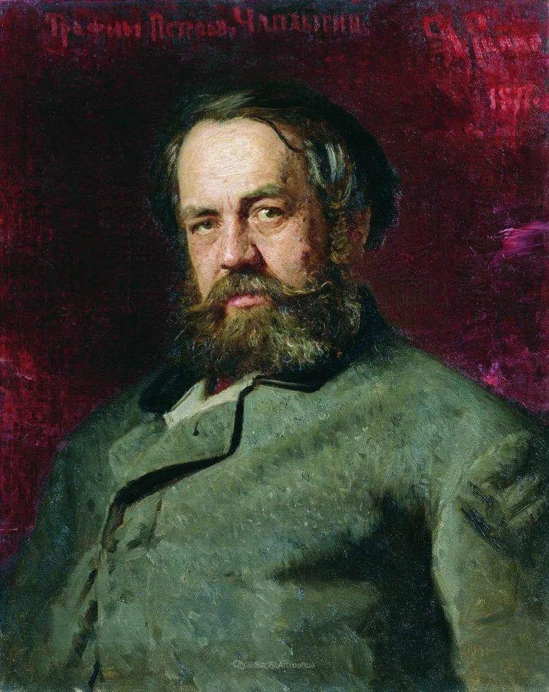 现实主义巨匠列宾, 男性肖像作品精选 170幅插图127