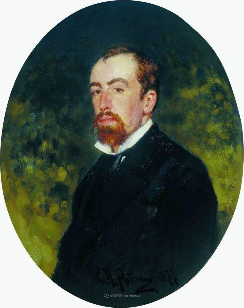 现实主义巨匠列宾, 男性肖像作品精选 170幅插图133