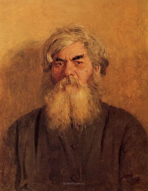 现实主义巨匠列宾, 男性肖像作品精选 170幅插图137