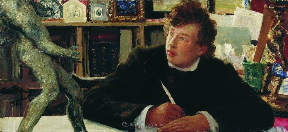 现实主义巨匠列宾, 男性肖像作品精选 170幅插图139