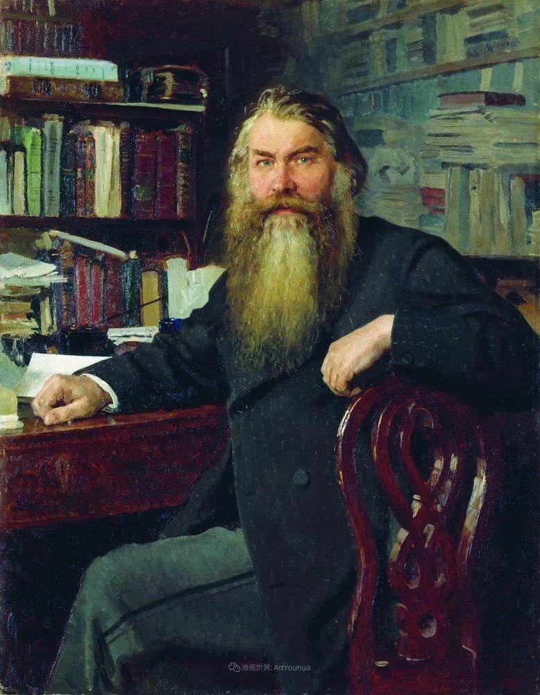 现实主义巨匠列宾, 男性肖像作品精选 170幅插图141