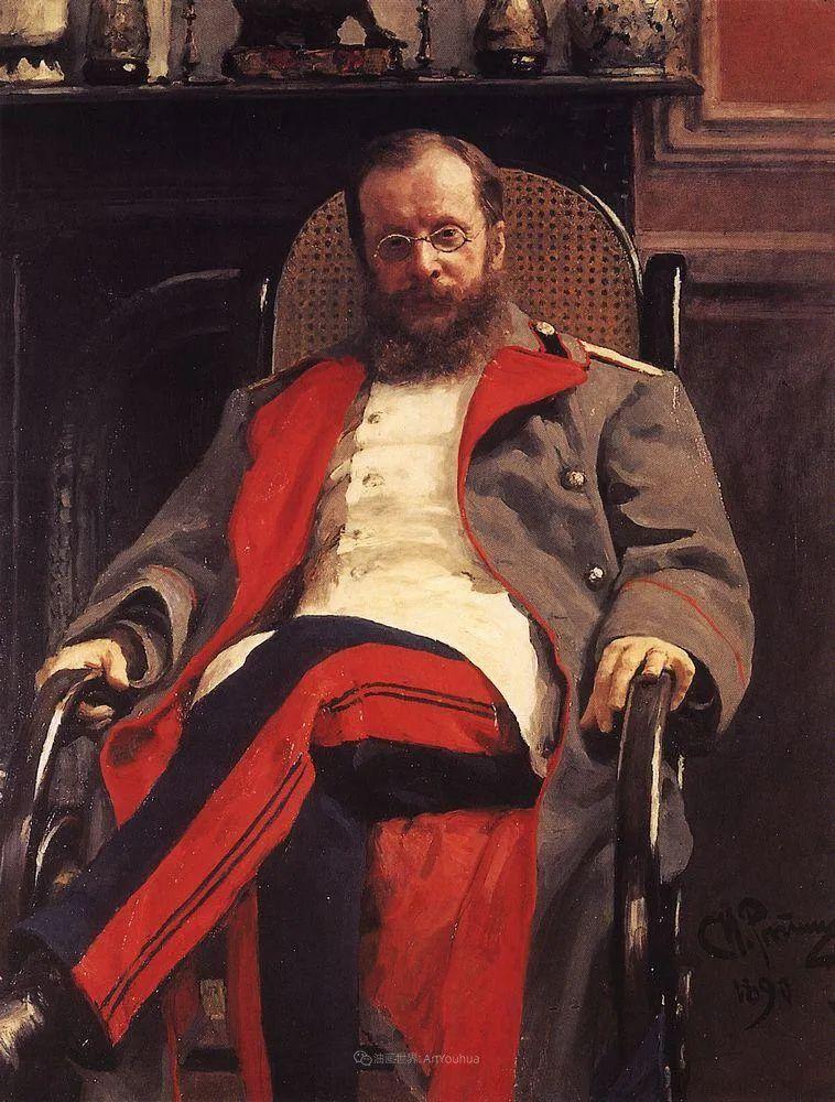 现实主义巨匠列宾, 男性肖像作品精选 170幅插图145