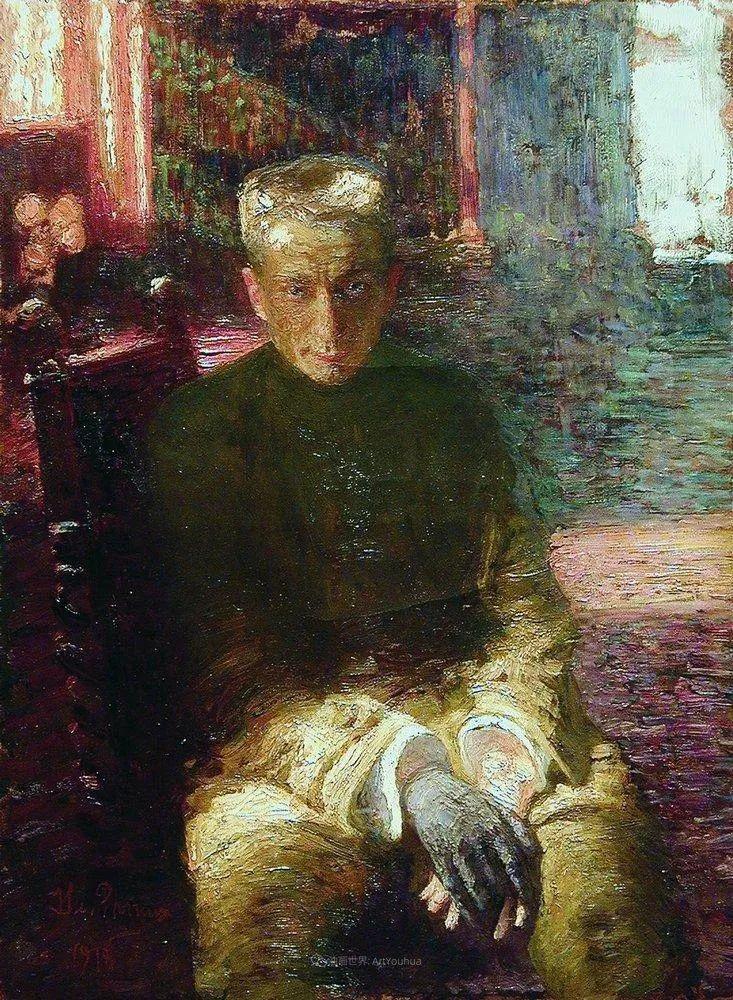 现实主义巨匠列宾, 男性肖像作品精选 170幅插图151