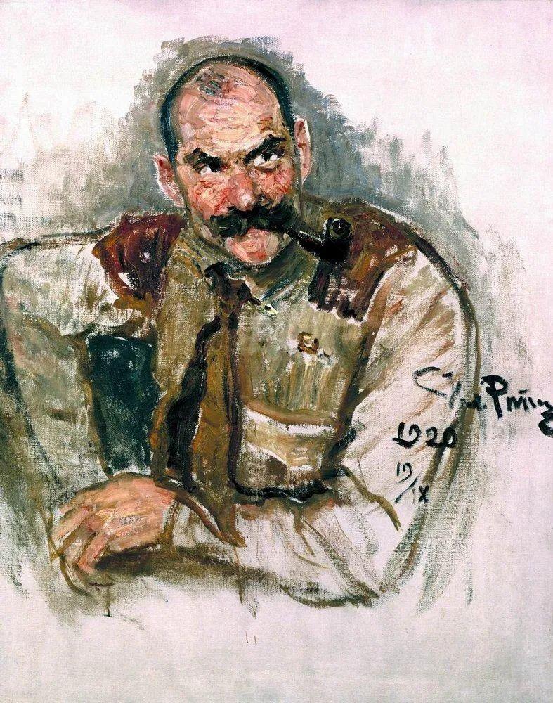 现实主义巨匠列宾, 男性肖像作品精选 170幅插图155