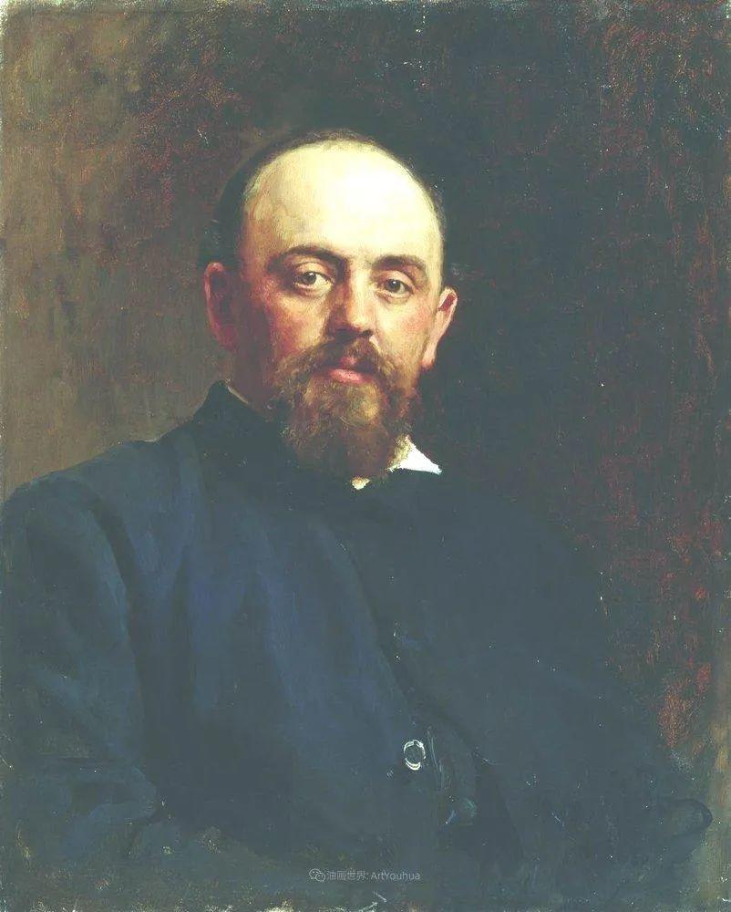 现实主义巨匠列宾, 男性肖像作品精选 170幅插图164