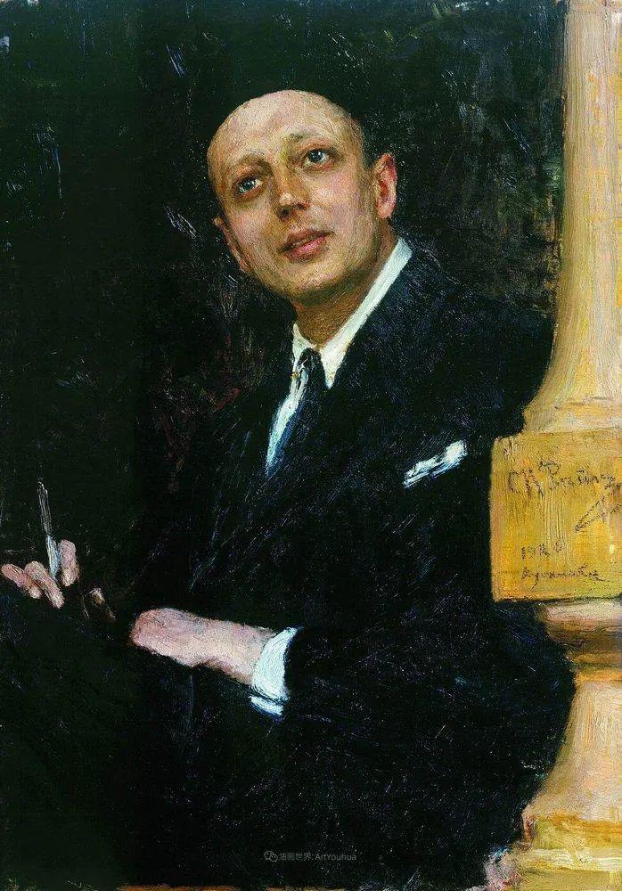 现实主义巨匠列宾, 男性肖像作品精选 170幅插图168