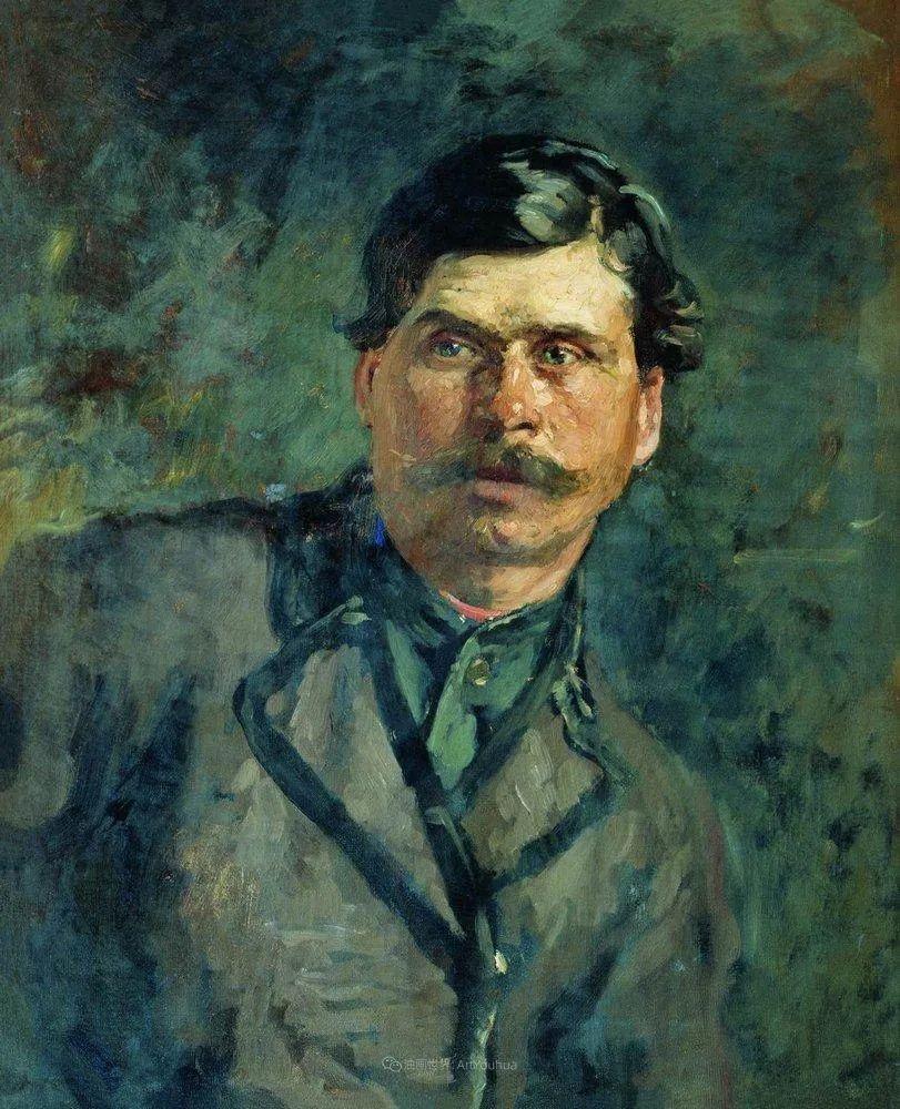 现实主义巨匠列宾, 男性肖像作品精选 170幅插图174