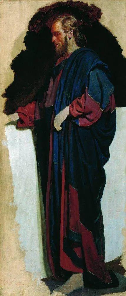 现实主义巨匠列宾, 男性肖像作品精选 170幅插图182