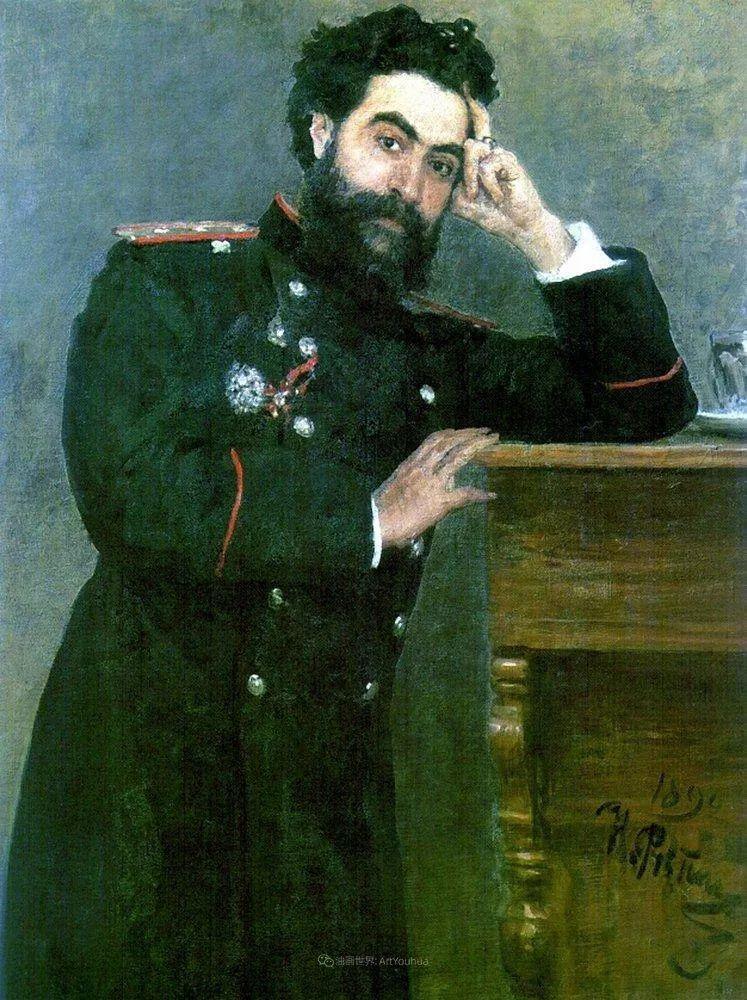 现实主义巨匠列宾, 男性肖像作品精选 170幅插图186