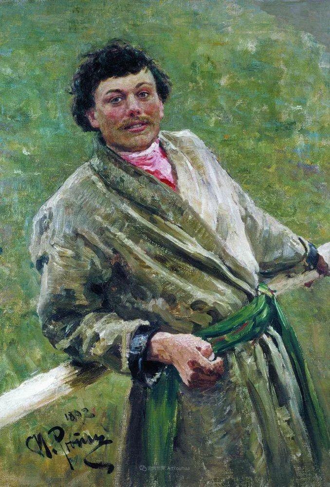 现实主义巨匠列宾, 男性肖像作品精选 170幅插图188