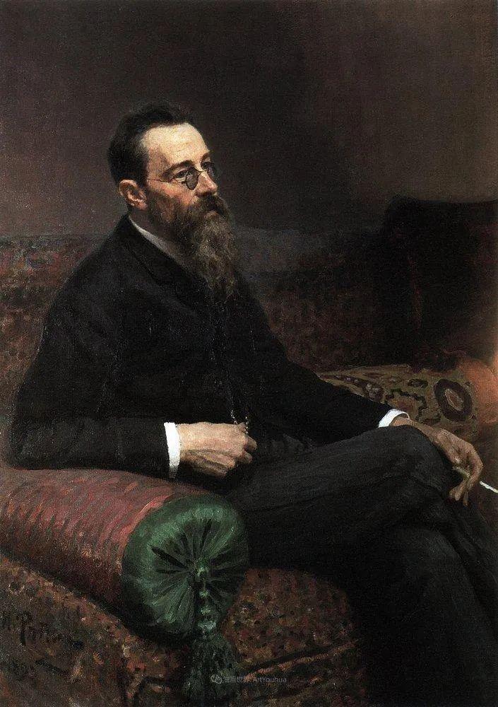 现实主义巨匠列宾, 男性肖像作品精选 170幅插图192