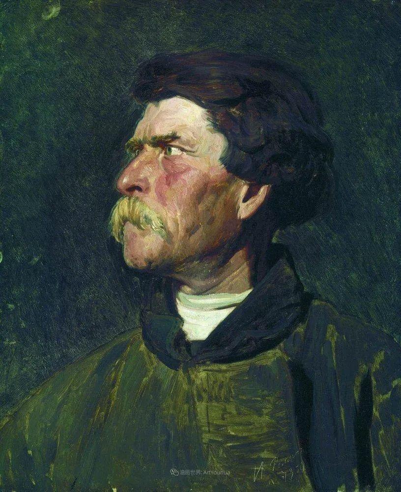 现实主义巨匠列宾, 男性肖像作品精选 170幅插图194