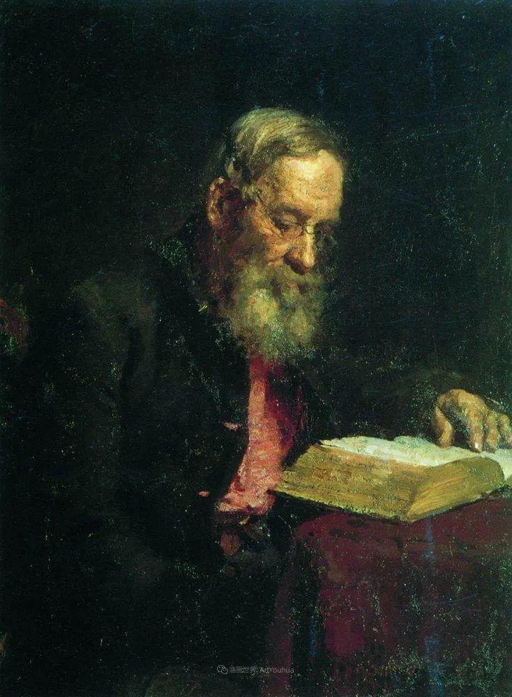 现实主义巨匠列宾, 男性肖像作品精选 170幅插图198
