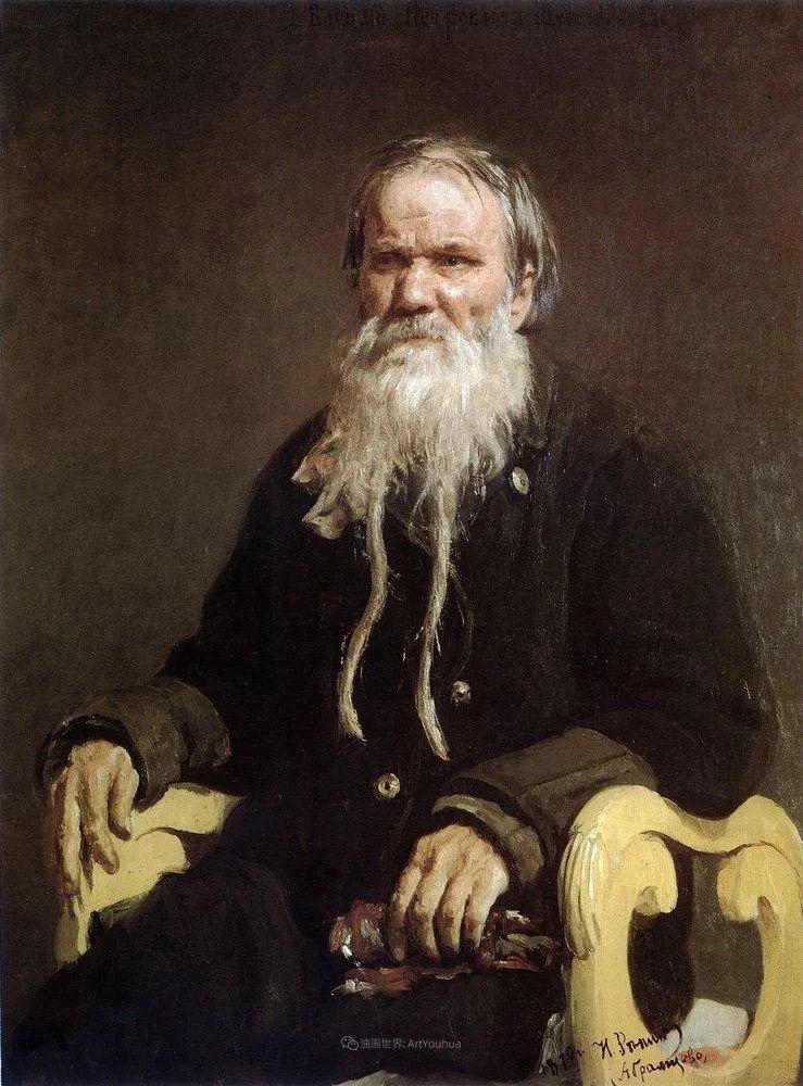 现实主义巨匠列宾, 男性肖像作品精选 170幅插图200