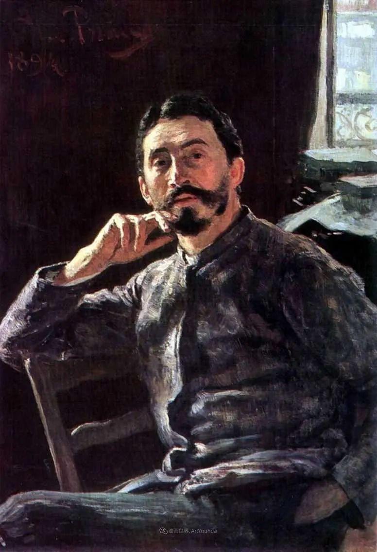 现实主义巨匠列宾, 男性肖像作品精选 170幅插图202