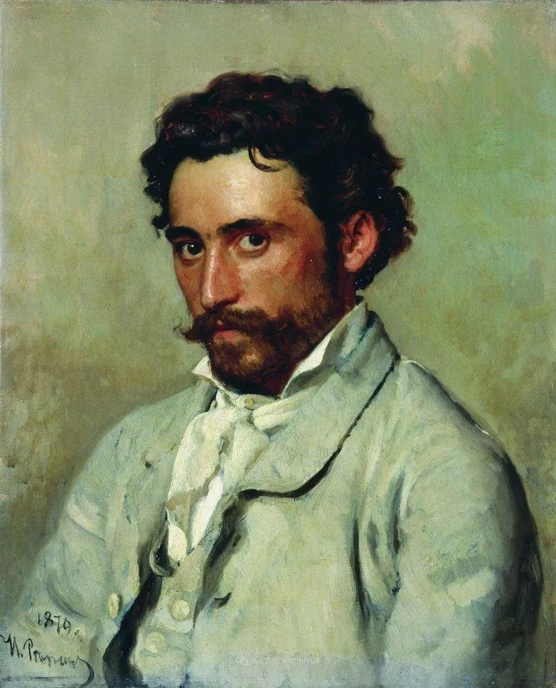 现实主义巨匠列宾, 男性肖像作品精选 170幅插图208