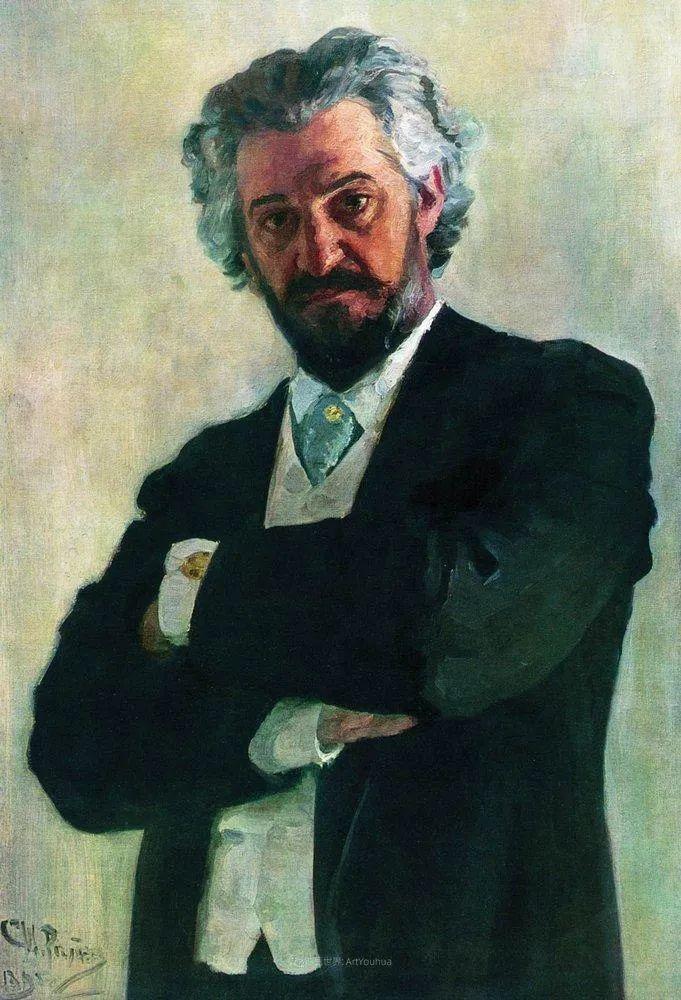 现实主义巨匠列宾, 男性肖像作品精选 170幅插图214