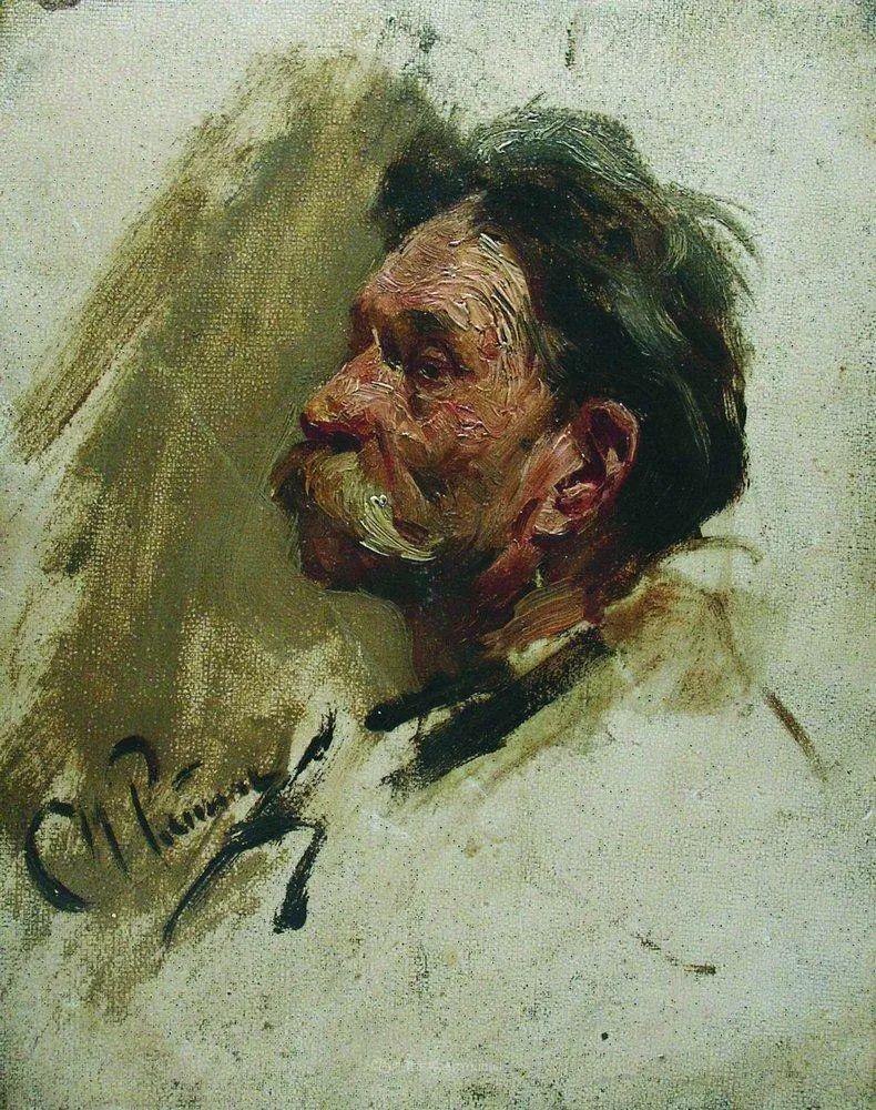 现实主义巨匠列宾, 男性肖像作品精选 170幅插图218