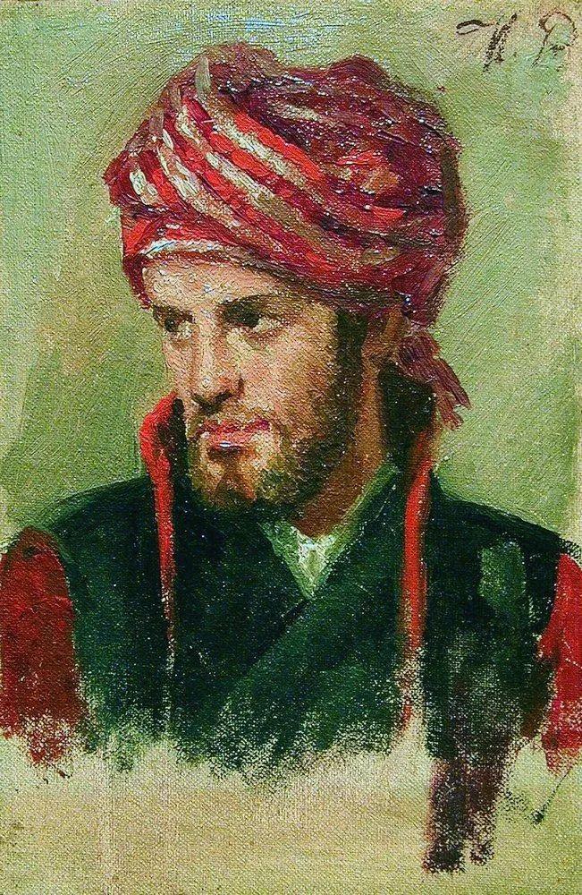 现实主义巨匠列宾, 男性肖像作品精选 170幅插图220