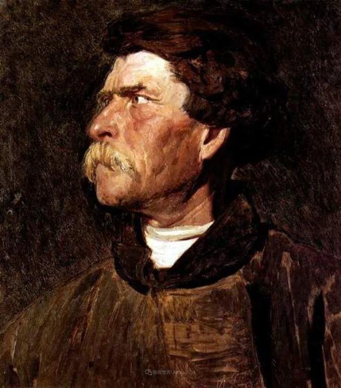 现实主义巨匠列宾, 男性肖像作品精选 170幅插图222