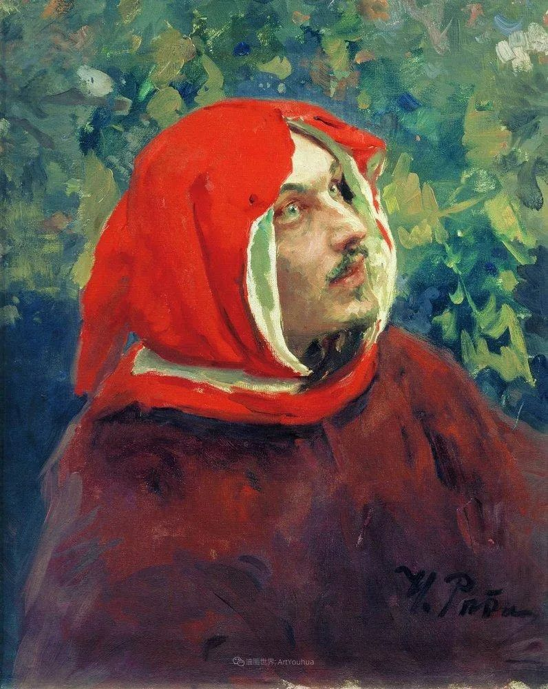 现实主义巨匠列宾, 男性肖像作品精选 170幅插图224