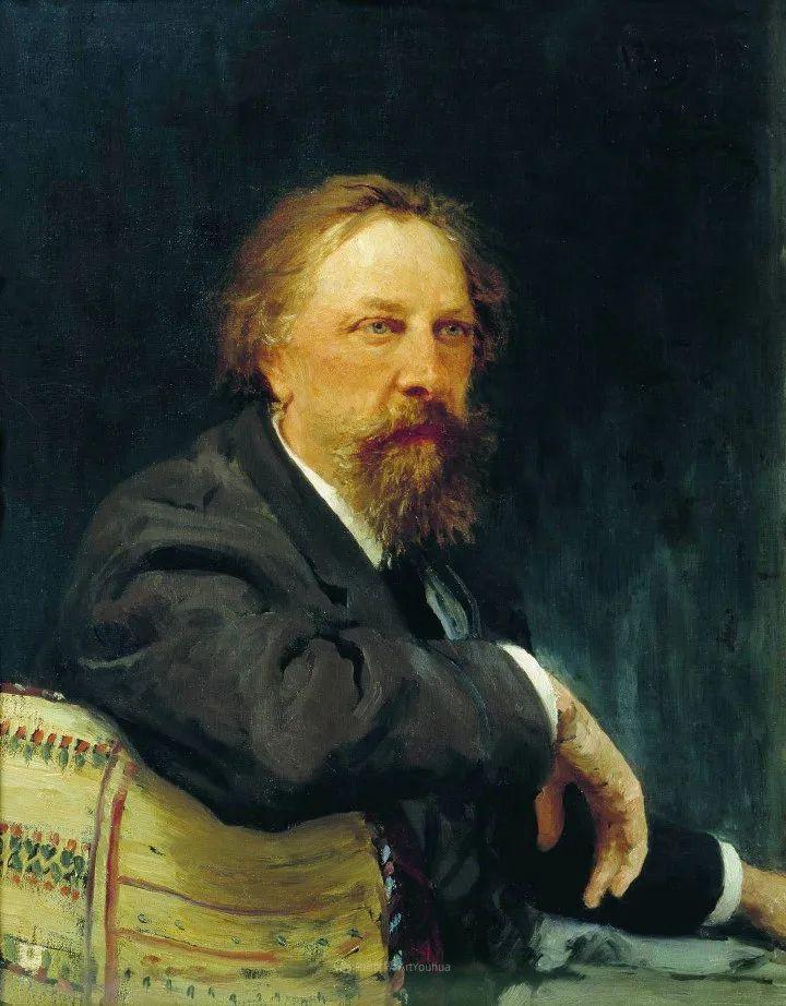 现实主义巨匠列宾, 男性肖像作品精选 170幅插图230
