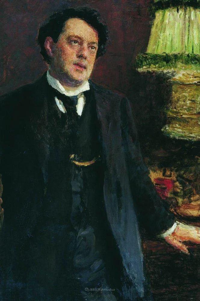 现实主义巨匠列宾, 男性肖像作品精选 170幅插图234