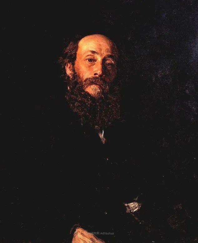 现实主义巨匠列宾, 男性肖像作品精选 170幅插图238