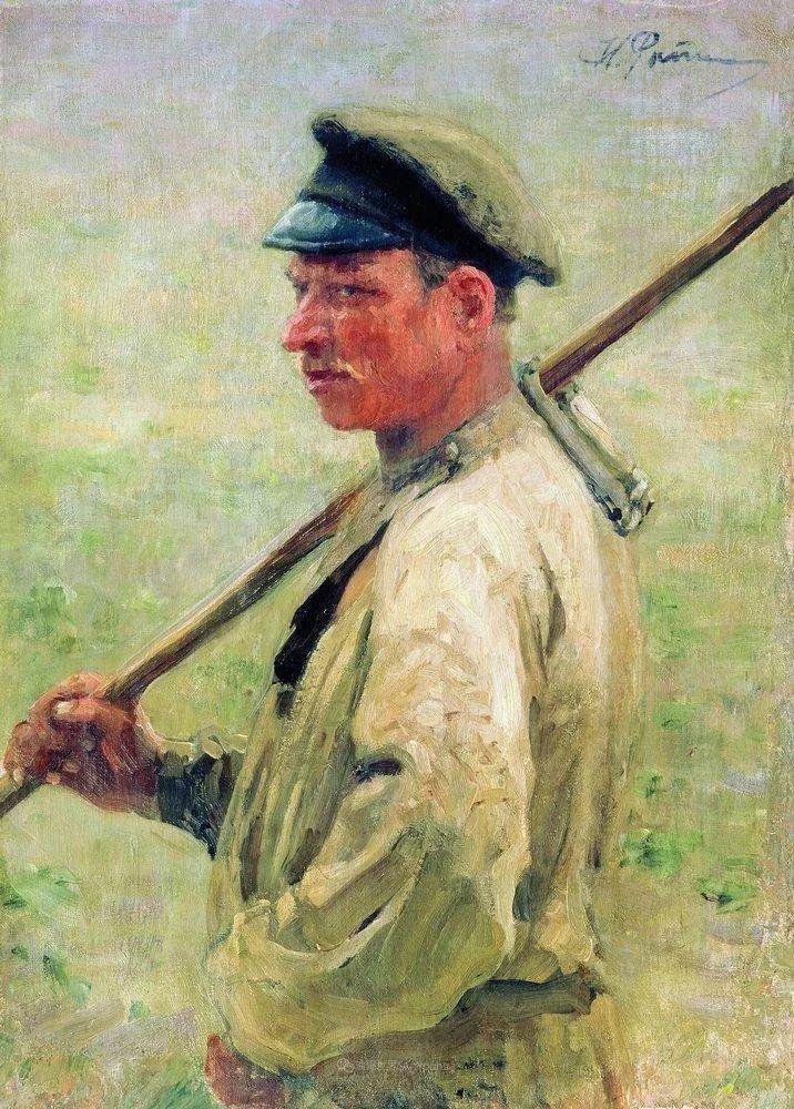 现实主义巨匠列宾, 男性肖像作品精选 170幅插图240