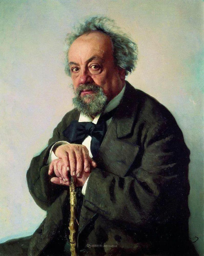现实主义巨匠列宾, 男性肖像作品精选 170幅插图242