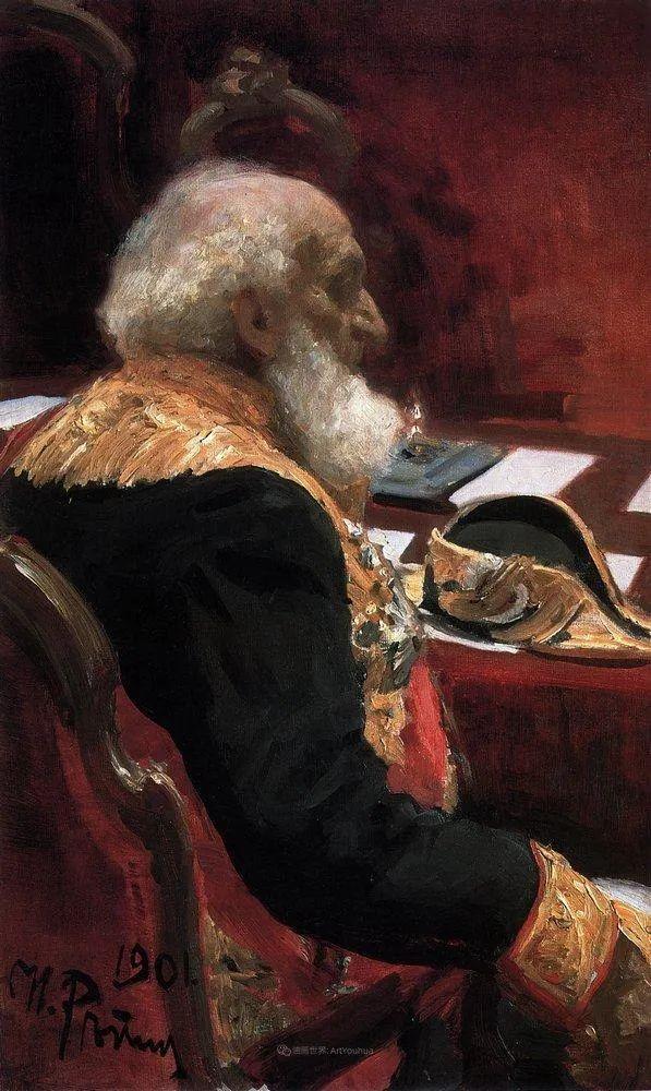 现实主义巨匠列宾, 男性肖像作品精选 170幅插图244