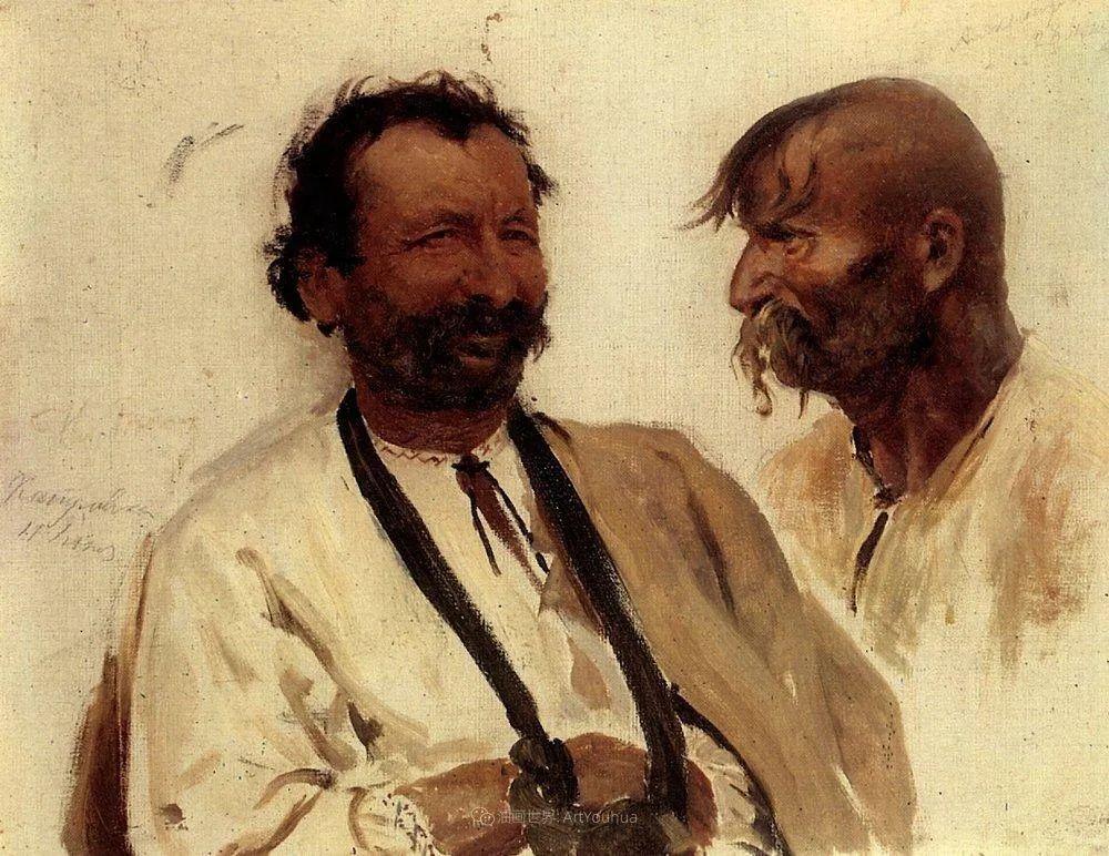 现实主义巨匠列宾, 男性肖像作品精选 170幅插图250