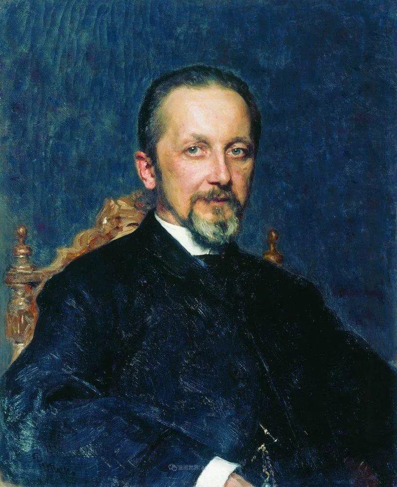 现实主义巨匠列宾, 男性肖像作品精选 170幅插图252
