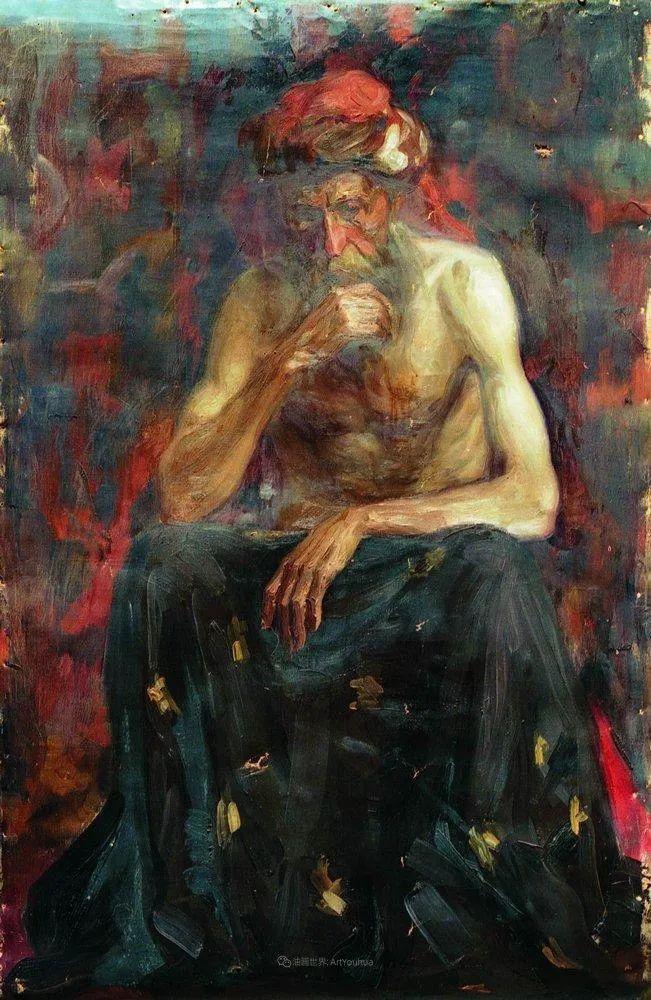现实主义巨匠列宾, 男性肖像作品精选 170幅插图262