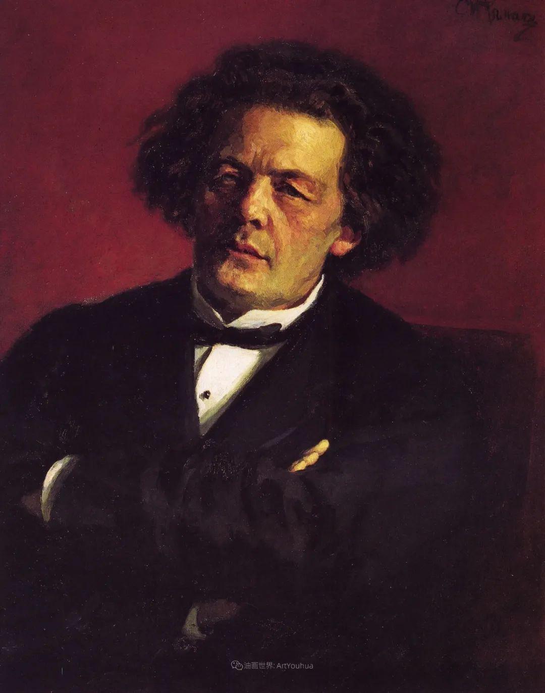 现实主义巨匠列宾, 男性肖像作品精选 170幅插图270
