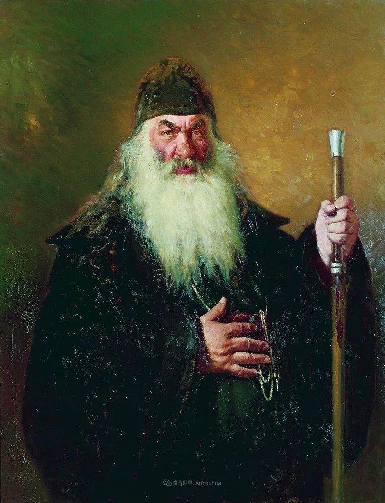 现实主义巨匠列宾, 男性肖像作品精选 170幅插图274
