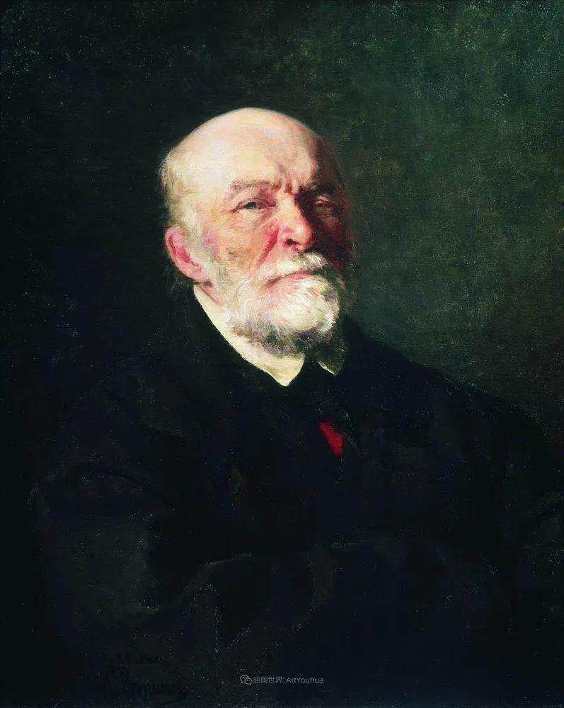 现实主义巨匠列宾, 男性肖像作品精选 170幅插图276