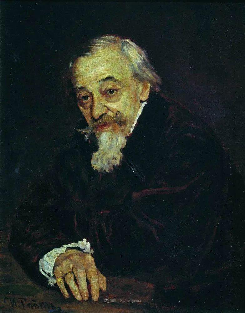 现实主义巨匠列宾, 男性肖像作品精选 170幅插图286