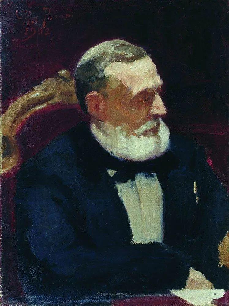 现实主义巨匠列宾, 男性肖像作品精选 170幅插图288