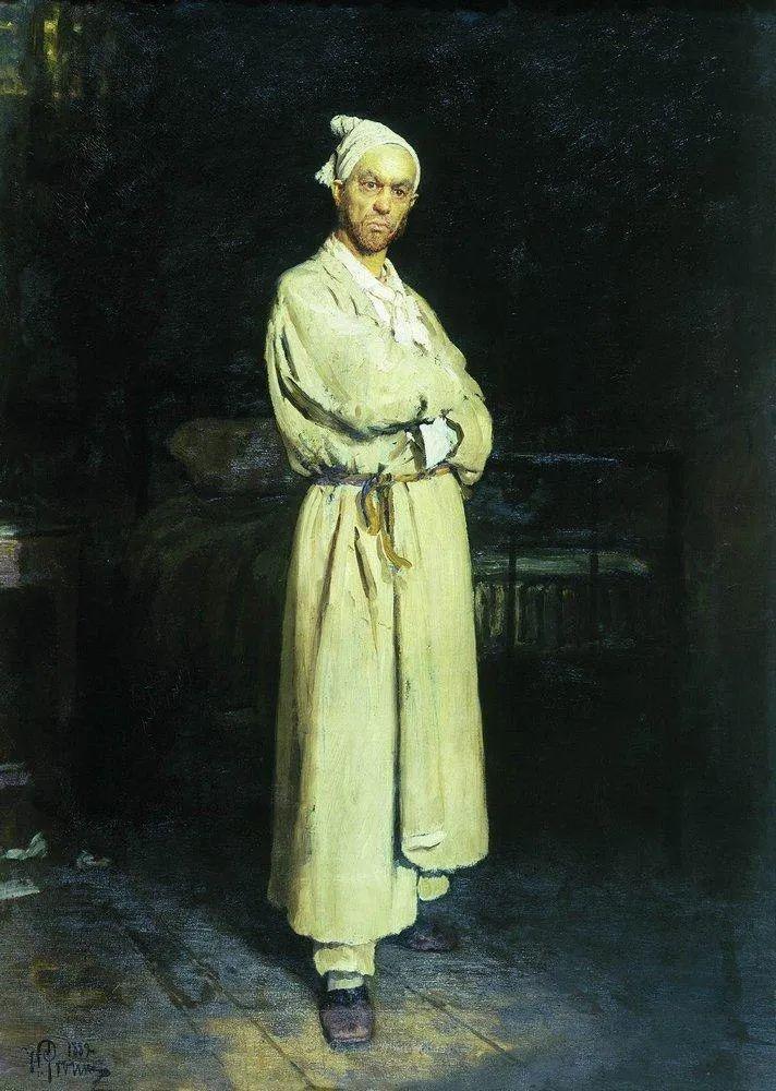 现实主义巨匠列宾, 男性肖像作品精选 170幅插图290