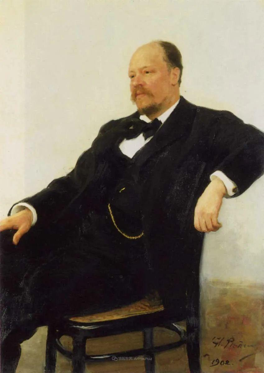 现实主义巨匠列宾, 男性肖像作品精选 170幅插图292