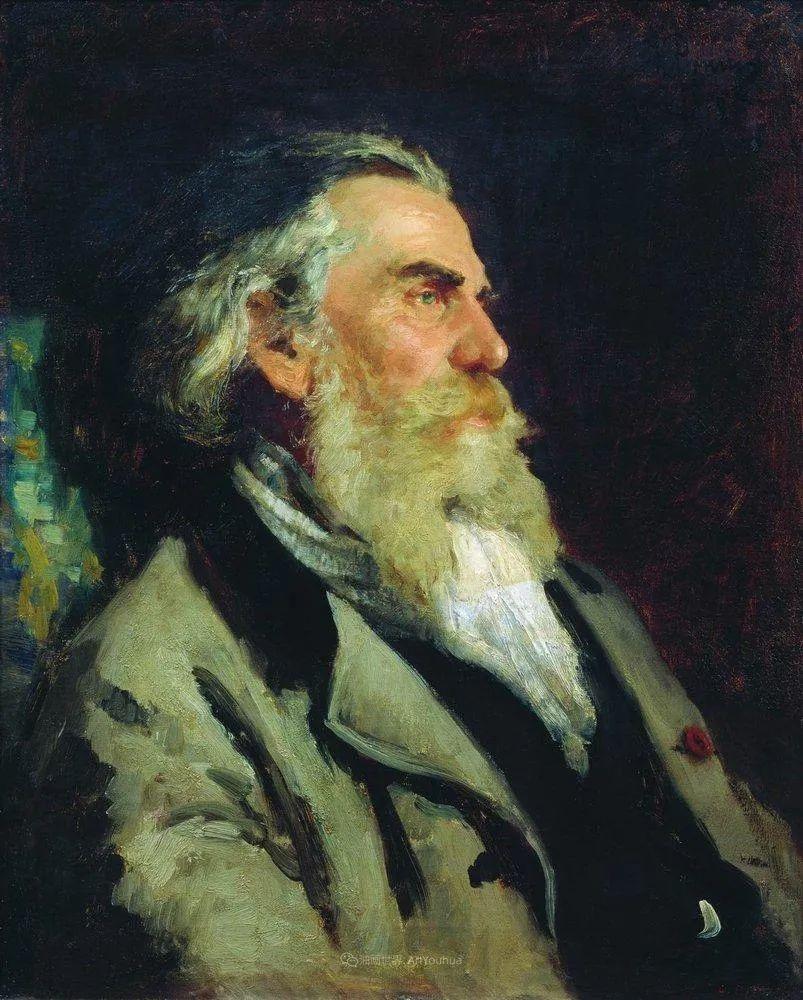 现实主义巨匠列宾, 男性肖像作品精选 170幅插图294